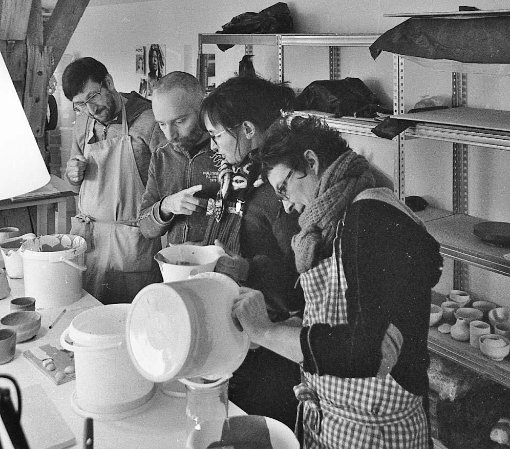 cours et stages de céramique proche de dijon en cote d'or