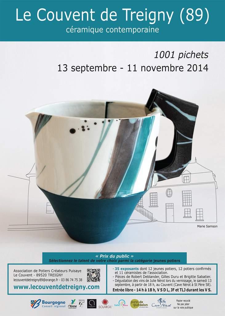 affiche-expo-1001-pichets-couvent-treigny